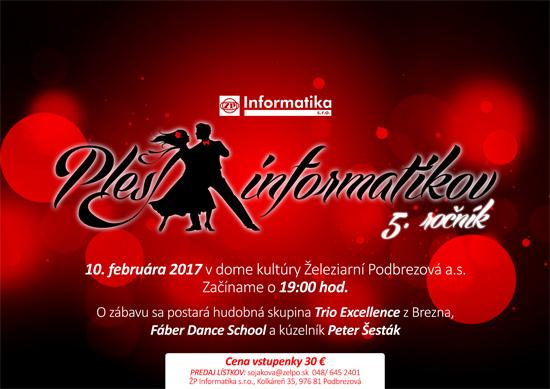 Ples Informatikov ŽP a.s.