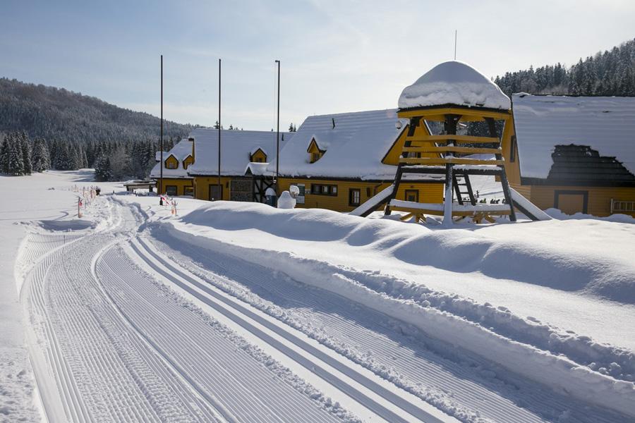 Tohtoročné snehové podmienky umožnili uviesť do prevádzky aj bežecké trate