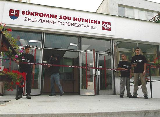 Otvorenie Súkromného SOU hutníckeho Železiarne Podbrezová