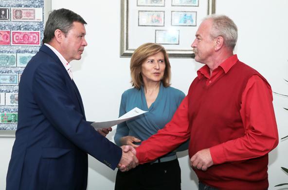 Stretnutie ZV OZ KOVO a vedenia Železiarní Podbrezová a.s.