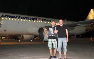 Nočný odlet do Maroka