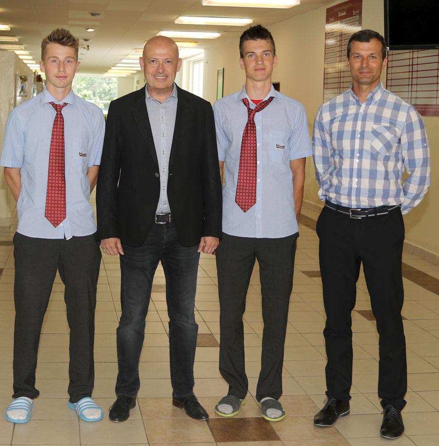 Prezident SOV Anton Siekel navštívil aj ŽP a.s. a naše školy