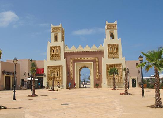 Marocká architektúra v Saidii