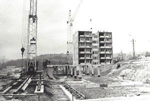 Výstavba SOU hutníckeho v Podbrezovej - Lopej