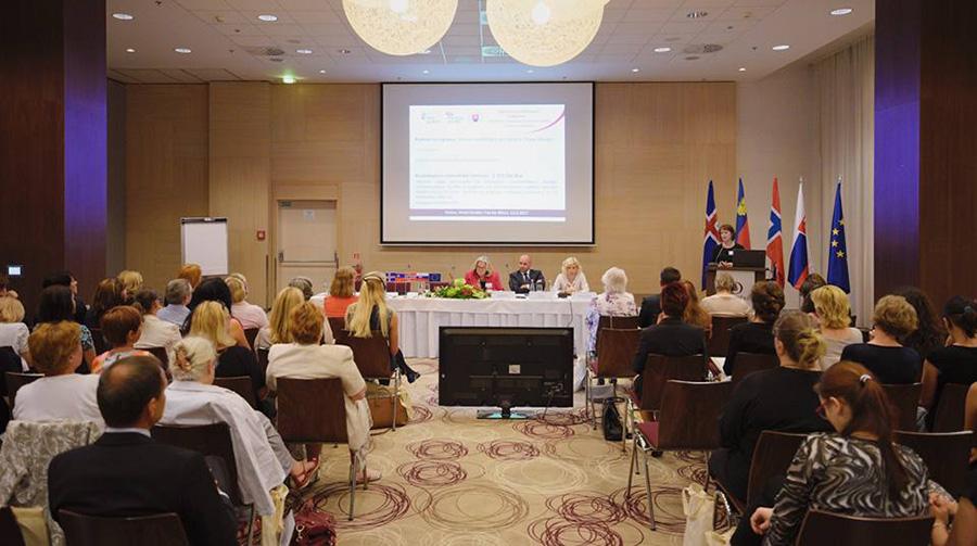 """Dňa 13. júna 2017 sa vKošiciach konala záverečná konferencia kprogramom """"Ochrana arevitalizácia kultúrneho aprírodného dedičstva"""""""