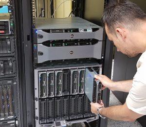Inštalácia servera v novej Infraštruktúre