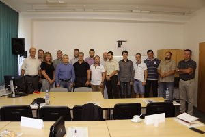 Účastnici školenia budúcich školitelov inštruktorov.