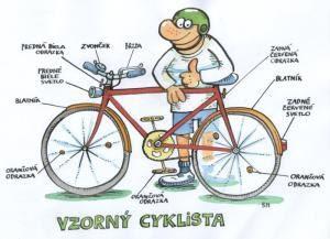 vzorný cyklista
