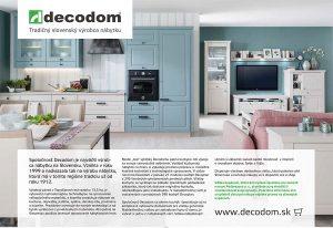 DECODOM - Tradičný slovenský výrobca nábytku