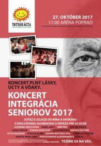 Koncert Integrácia seniorov 2017