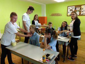 Študenti súkromných škôl Železiarní Podbrezová