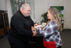 Cenu generálneho riaditeľa prevzala D. Soliarová