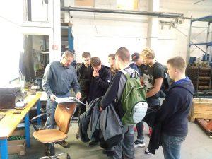 Študenti SSOŠH ŽP na odbornej exkurzii vo Vlkanovej
