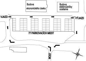 parkovisko P3 SZ