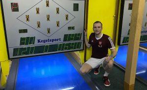 Martin Kozák vytvoril výkonom 690 bodov nový rekord kolkárne vo Fiľakove.