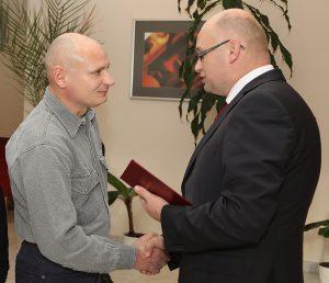 P. Belkovi blahoželal Ing. Milan Srnka, PhD., člen predstavenstva