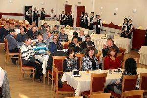 Tohtoročných jubilantov, ktorí odpracovali vŽeleziarňach Podbrezová nepretržite tridsať rokov