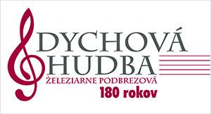 Logo dychová hudba ŽP - 180 rokov