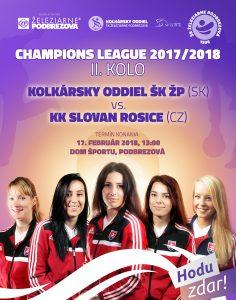 CHAMPIONS LEAGUE 2017/2018 - II. kolo