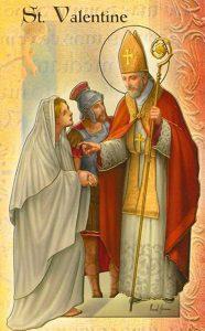 Svätý Valentín – biskup, mučeník apatrón zaľúbených