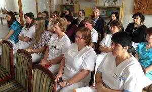 Jadro seminára tvorila prednáška Zuzany Zimovej oteórii vzťahovej väzby medzi mamou a dieťaťom.