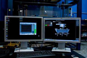 Operátorská PC stanica pre snímanie, záznam a vizualizáciu veličín a riadenie prietokov