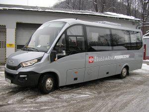 Nový 25 miestny minibus v prevádzkarni doprava