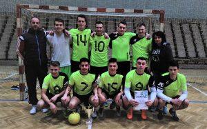 Chlapci znašej SSOŠH si vybojovali víťazstvo vkrajskom kole žiakov stredných škôl vo futsale, čo im zaručilopostup na Majstrovstvá Slovenskej republiky