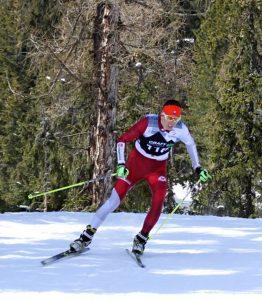 Naši biatlonisti sa nestratili ani vkonkurencii bežcov na lyžiach, na snímke Lukáš Ottinger