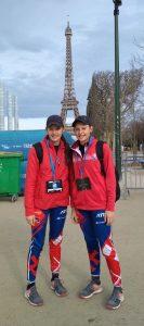 Z Paríža si odkášajú okrem športových úspechov aj krásne spomienky.