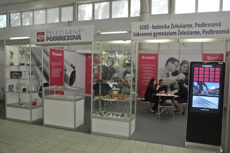 Železiarne Podbrezová na Job Expo 2018