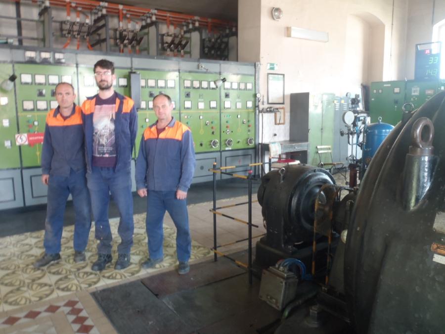 HC Piesok, energetika starý závod Železiarne Podbrezová