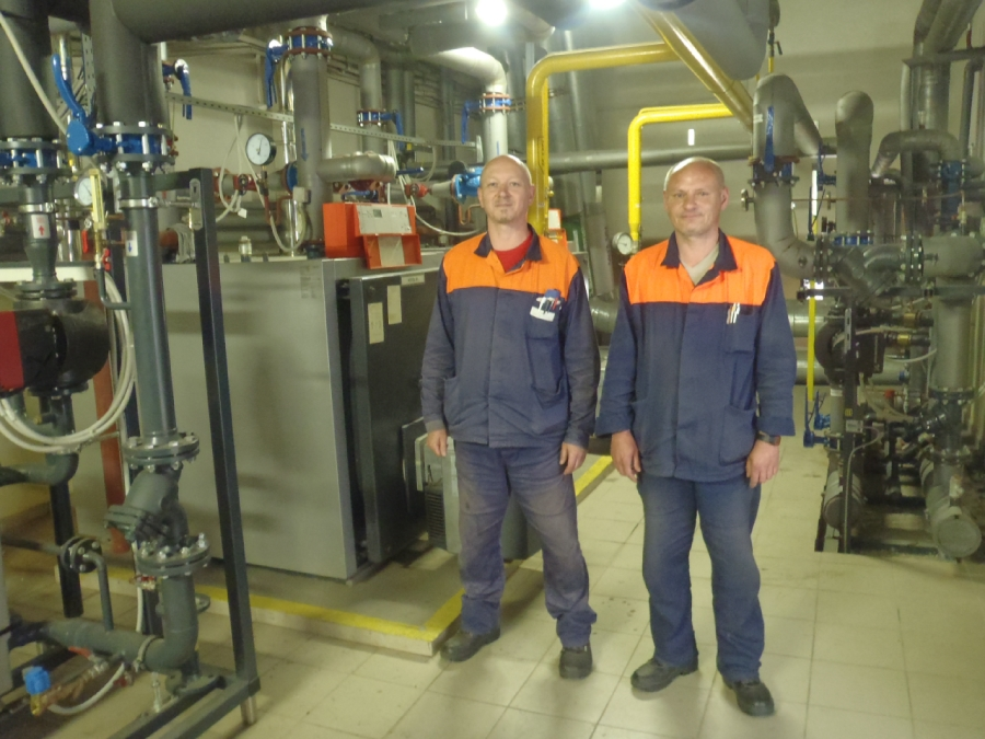 Údržba rozvodov technických plynov Železiarne Podbrezová