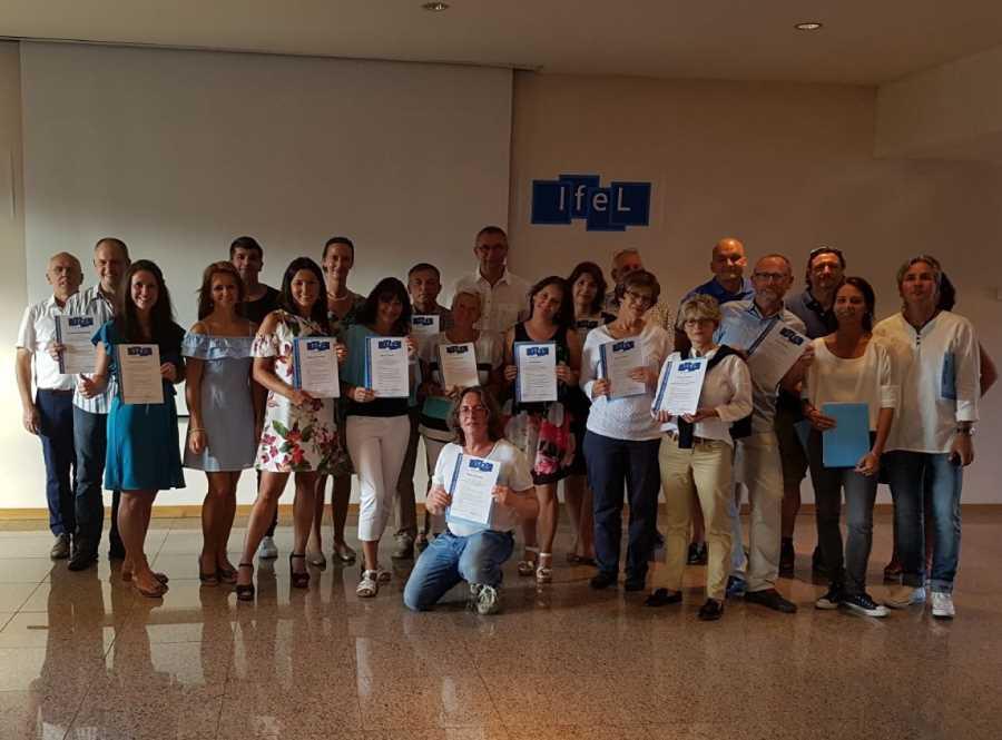 Účastníci kurzu na seminári v Portugalsku