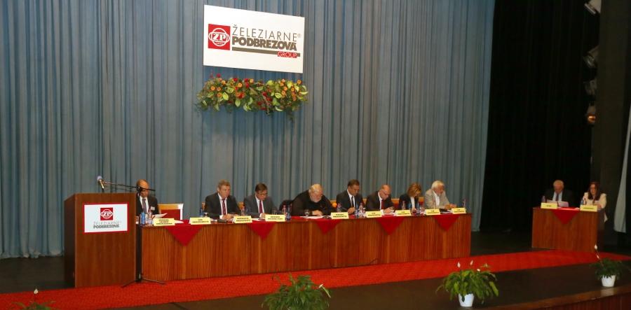 26. riadne valne zhromaždenie ŽP a.s.