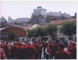 Účasť na Pádivého Trenčíne sa postupne pre našu dychovku stala tradíciou