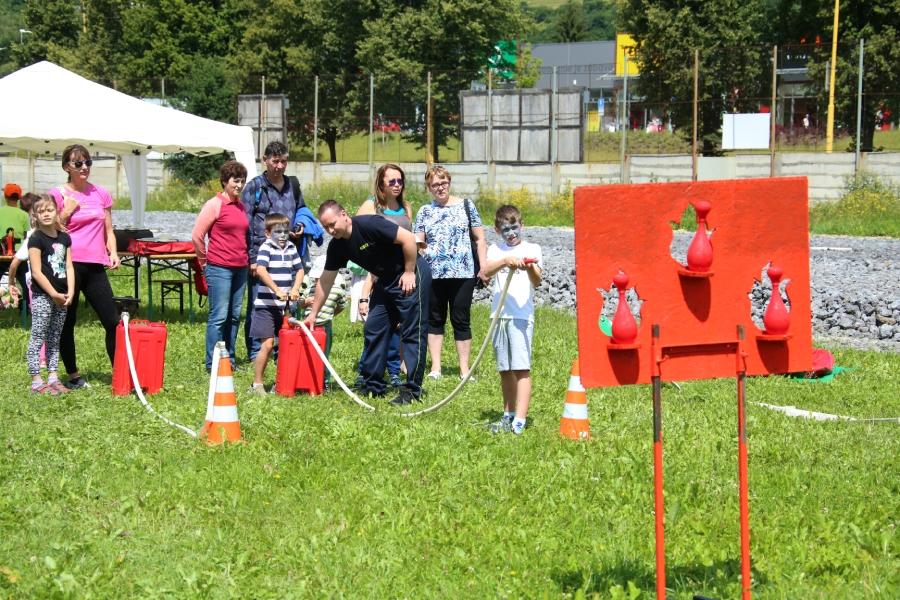 Akcia Letné prázdniny organizovaná Železiarňami Podbrezová