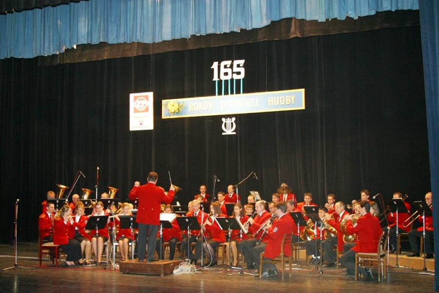 Koncert pri oslave 165. výročia Dychovej hudby ŽP.