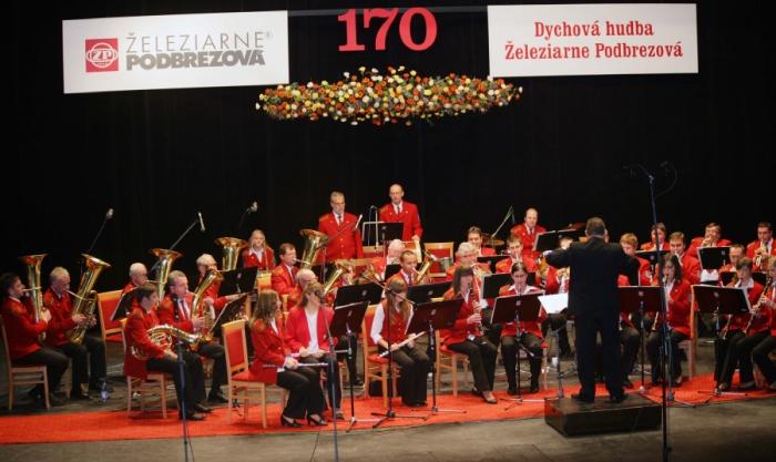 Koncert Dychovej hudby pri oslavách jej 170. výročia.