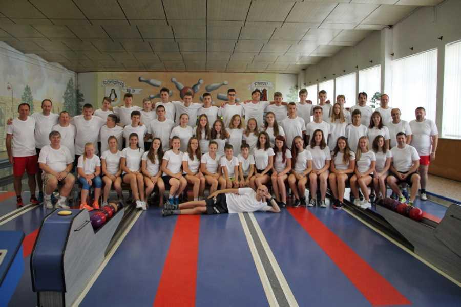 Účastníci medzinárodného kolkárskeho kempu v českom Přerove