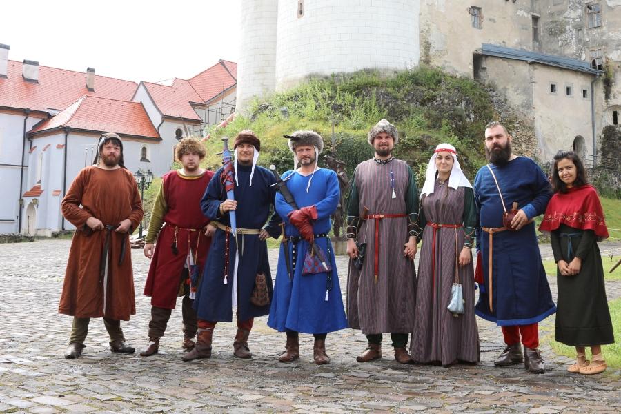 Účastníci Dončovho snemu na hrade Ľupča