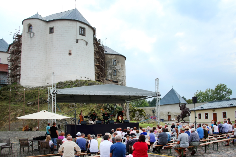 Festival Hradné Huky 2018 na hrade Ľupča
