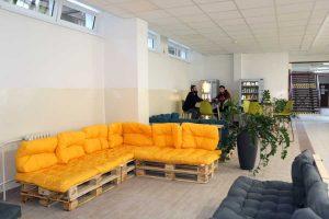 Novovybudovaná oddychová zóna