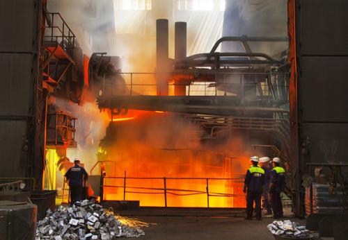 Ilustračná foto oceliarne Železiarne Podbrezová