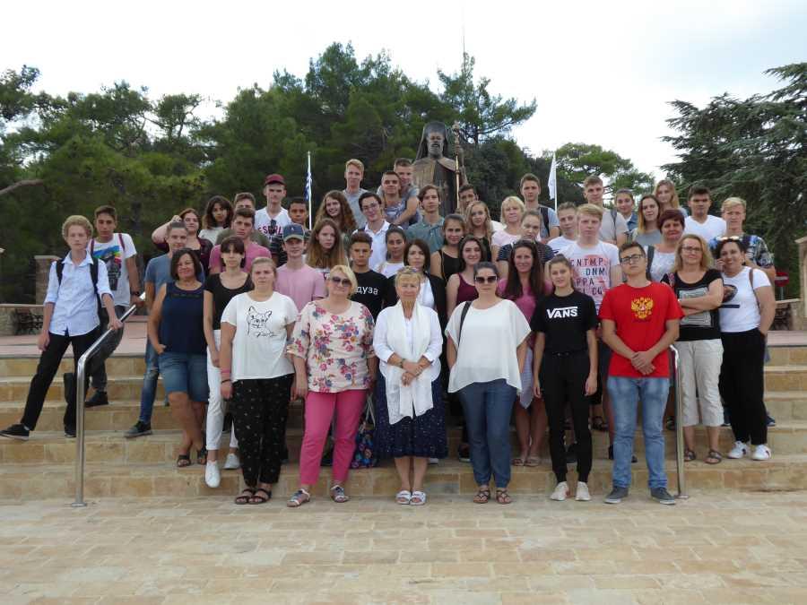 Účastníci Európskeho týždňa v Limassole na Cypre