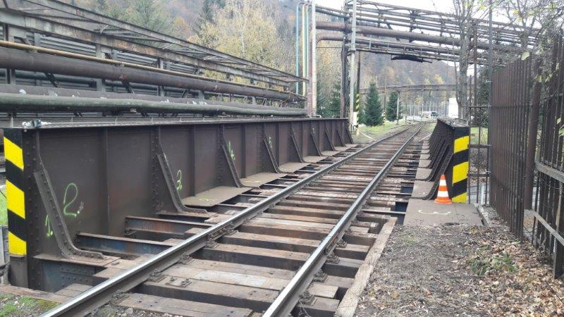 Most patrí Železiarňam Podbrezová