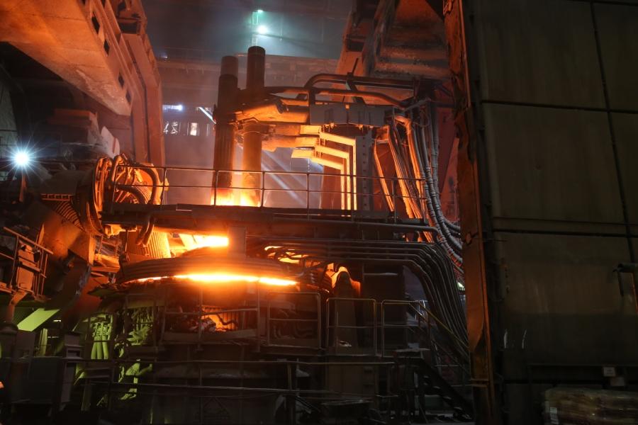 Ilustračný obrázok oceliareň Železiarne Podbrezová