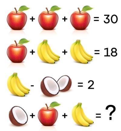 Spočítajte ovocie