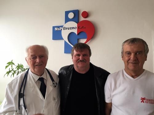 prof. MUDr. Jozef Novotný, PhD.; Ing. Jaroslav Mačejovský a MUDr. Ľubomír Antalík