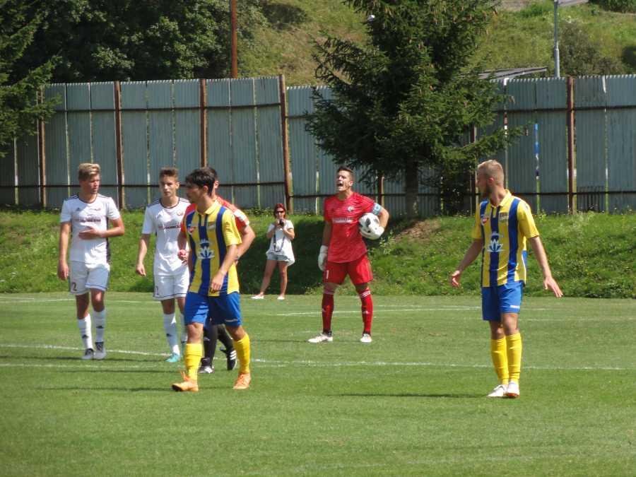 Richard Ludha patrí k oporám staršieho dorastu FK Železiarne Podbrezová